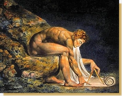 Newton, por William Blake (1795)